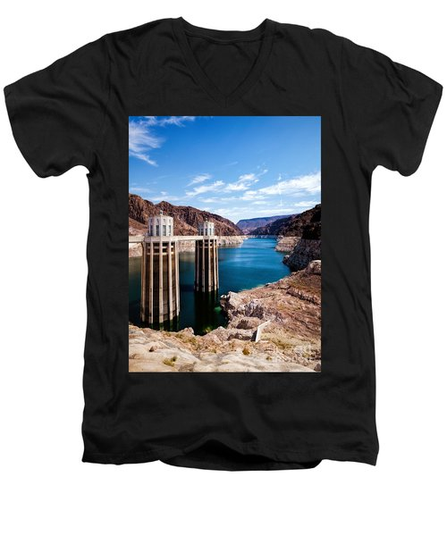 Hoover Dam Men's V-Neck T-Shirt