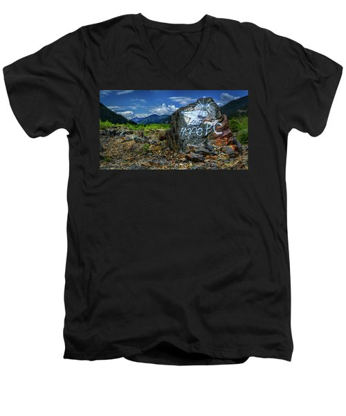 Men's V-Neck T-Shirt featuring the photograph Hope II by John Poon