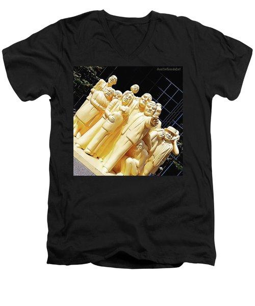 Hope That It Isn't Going To Be One Of Men's V-Neck T-Shirt