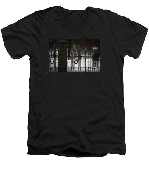 Hopeful Expectation Men's V-Neck T-Shirt by Linda Shafer