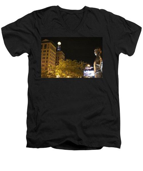 Hopeful For Flint's Future Men's V-Neck T-Shirt