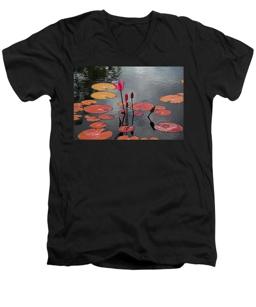 Men's V-Neck T-Shirt featuring the photograph Hopefully Ever After by Michiale Schneider