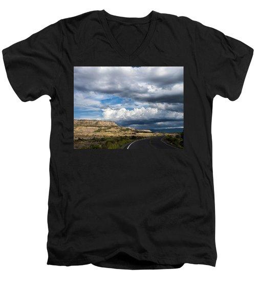 Horse Canyon By De Beque Colorado Men's V-Neck T-Shirt