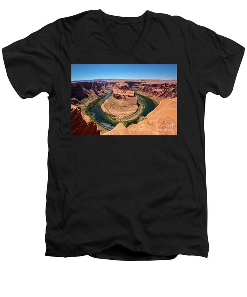 Horseshoe Bend Men's V-Neck T-Shirt