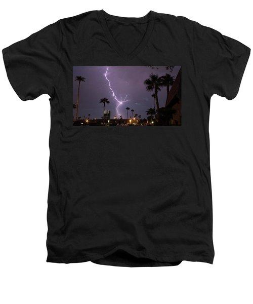 Hot Stuff Men's V-Neck T-Shirt