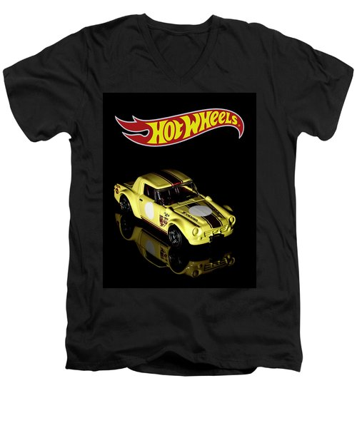 Hot Wheels Datsun Fairlady 2000 Men's V-Neck T-Shirt