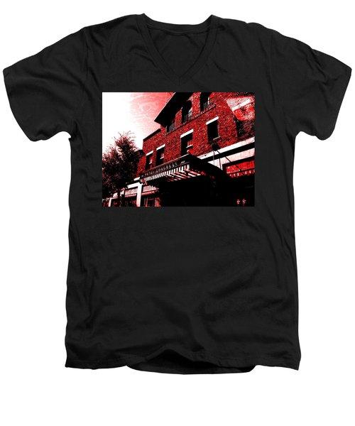 Hotel Congress Men's V-Neck T-Shirt