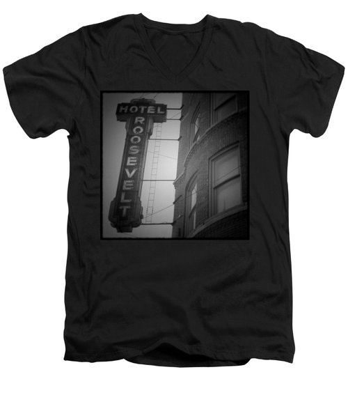 Hotel Roosevelt Men's V-Neck T-Shirt