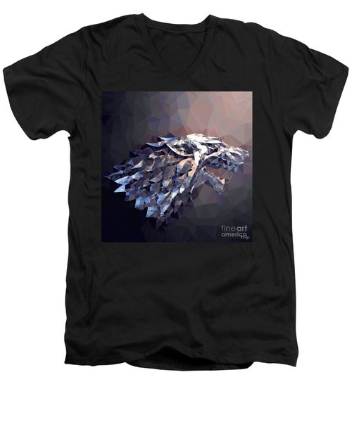House Stark Men's V-Neck T-Shirt