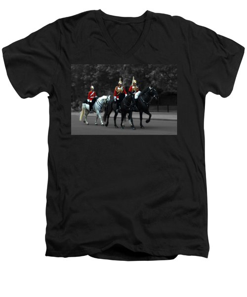 Household Cavalry Men's V-Neck T-Shirt