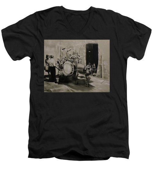 Household Men's V-Neck T-Shirt