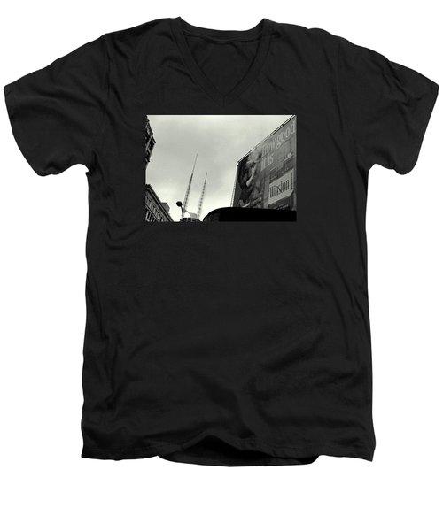 How Good Men's V-Neck T-Shirt by David Gilbert