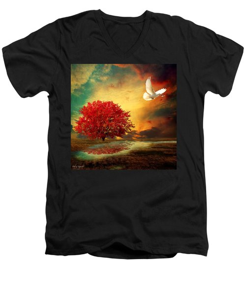 Hued Men's V-Neck T-Shirt