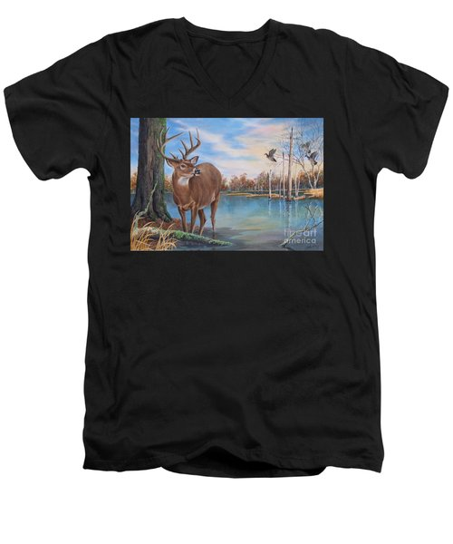 Hunters Dream Sold Men's V-Neck T-Shirt