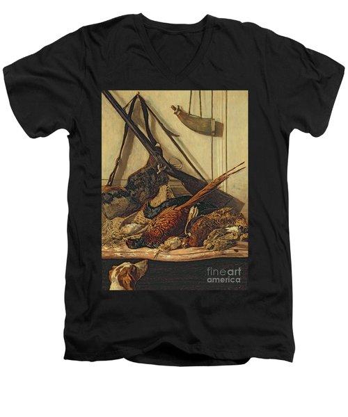 Hunting Trophies Men's V-Neck T-Shirt