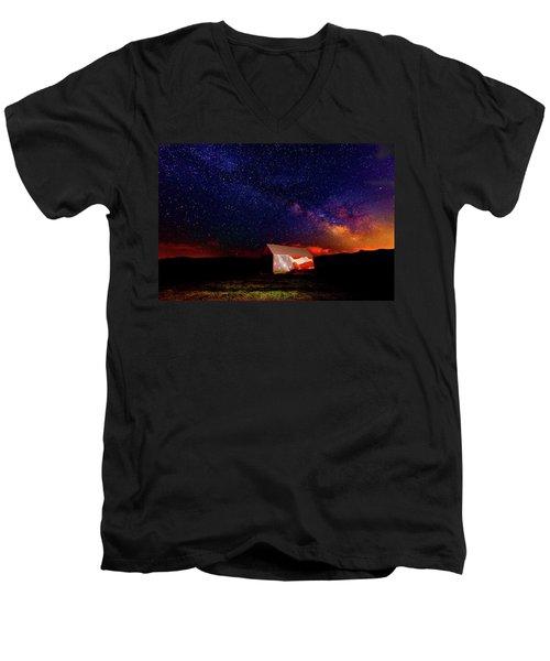 Huntsville Barn Men's V-Neck T-Shirt