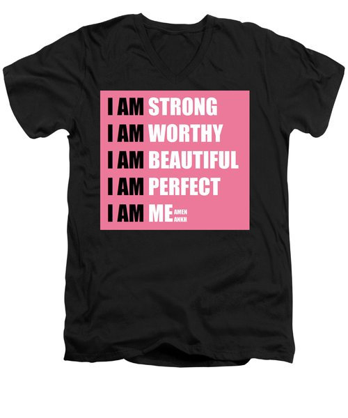 I Am Men's V-Neck T-Shirt