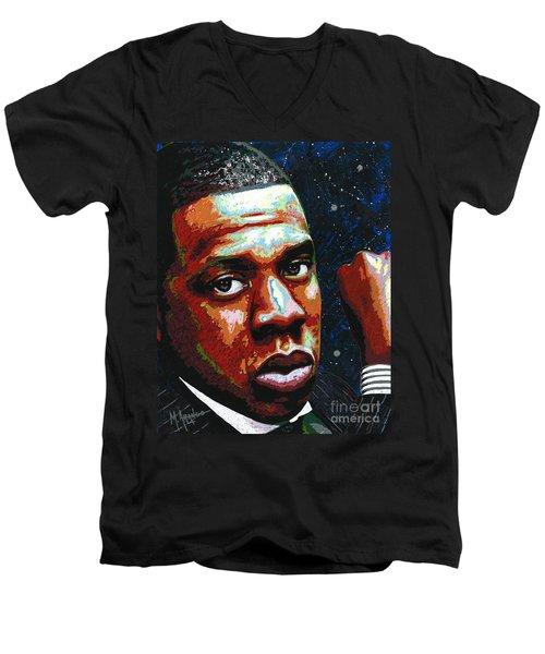 I Am Jay Z Men's V-Neck T-Shirt