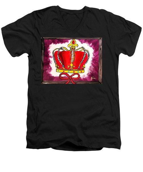 I Am King  Men's V-Neck T-Shirt
