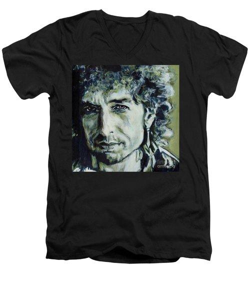 I Could Hold You For A Million Years. Bob Dylan Men's V-Neck T-Shirt