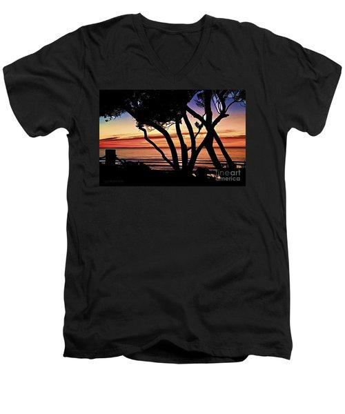 I Desire Mercy Men's V-Neck T-Shirt by Sharon Soberon
