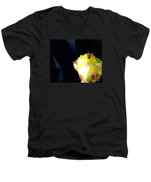 I Feel You Always Near Men's V-Neck T-Shirt by Linda Shafer