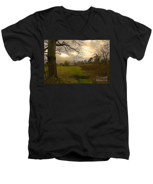 I Follow The Sunset. Men's V-Neck T-Shirt