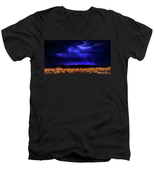 Men's V-Neck T-Shirt featuring the photograph I Got You Babe by Michael Rogers