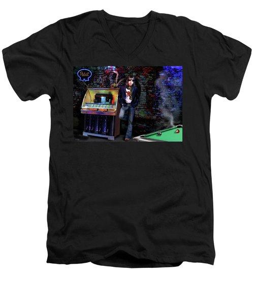 I Love Rock And Roll Men's V-Neck T-Shirt