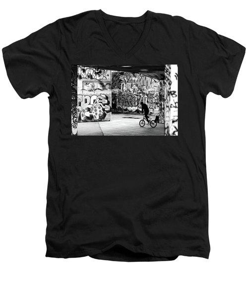 I Ride Alone Men's V-Neck T-Shirt