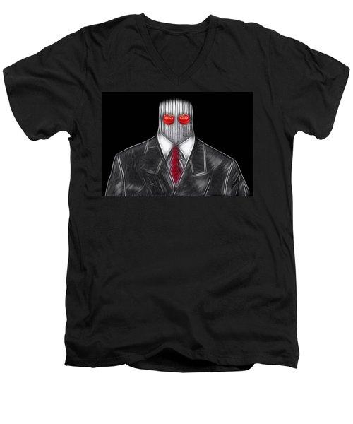 I See Everything Men's V-Neck T-Shirt