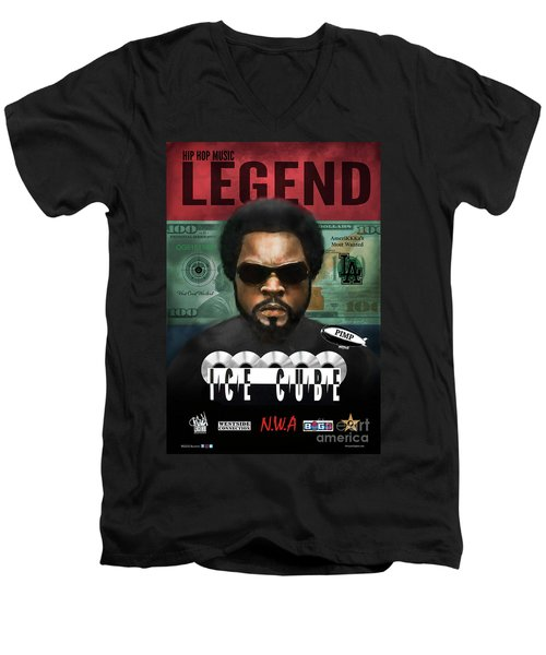 Ice Cube  Men's V-Neck T-Shirt