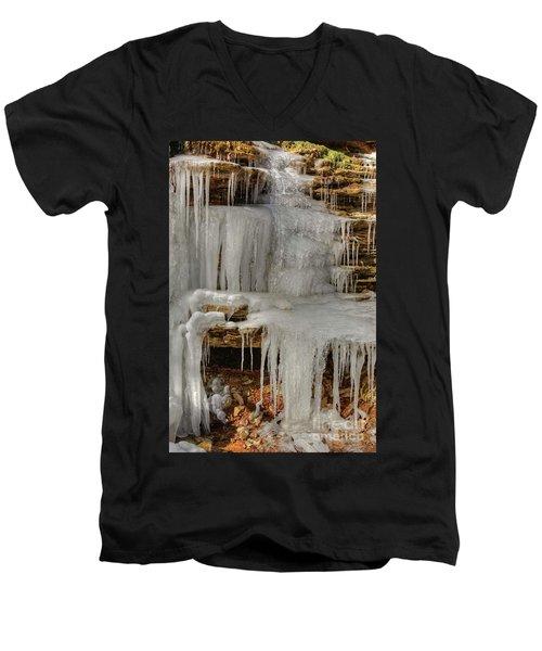 Ice Flow Men's V-Neck T-Shirt