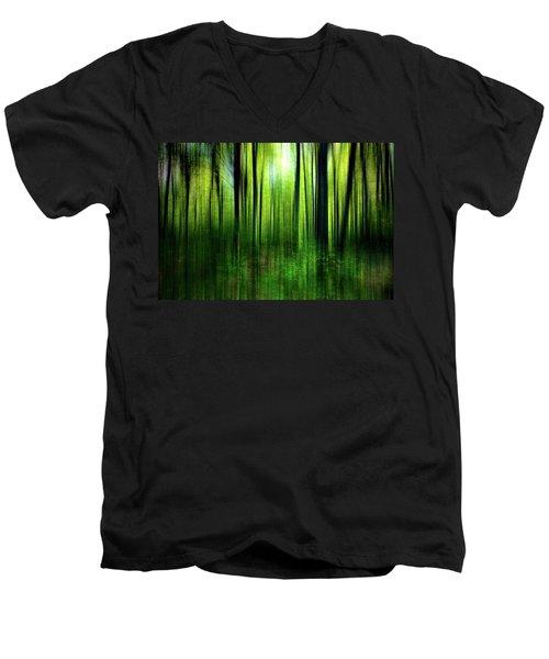 If A Tree Men's V-Neck T-Shirt