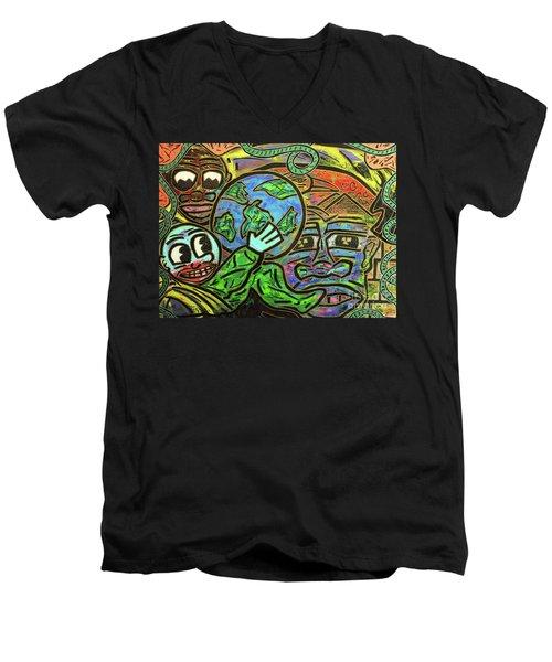 Ikembe's Dream Men's V-Neck T-Shirt