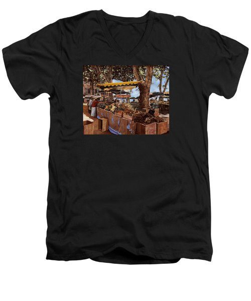 il mercato di St Paul Men's V-Neck T-Shirt