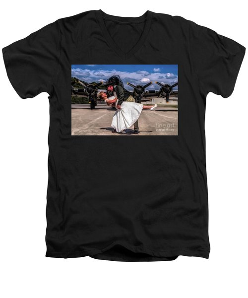 I'm Home Baby Men's V-Neck T-Shirt