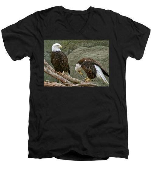 I'm Sorry Men's V-Neck T-Shirt