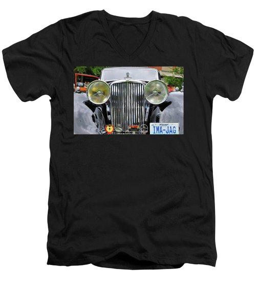 Ima A Jag Men's V-Neck T-Shirt