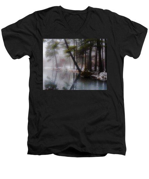 In A Fog Men's V-Neck T-Shirt