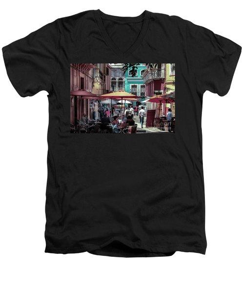 In A Little Spanish Town Men's V-Neck T-Shirt