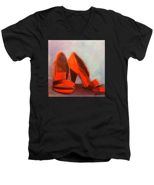 In Her Shoes Men's V-Neck T-Shirt