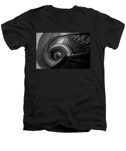 Men's V-Neck T-Shirt featuring the photograph In Ponce by Kristopher Schoenleber