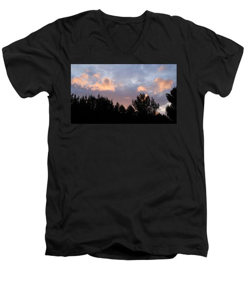 In The Clouds Men's V-Neck T-Shirt