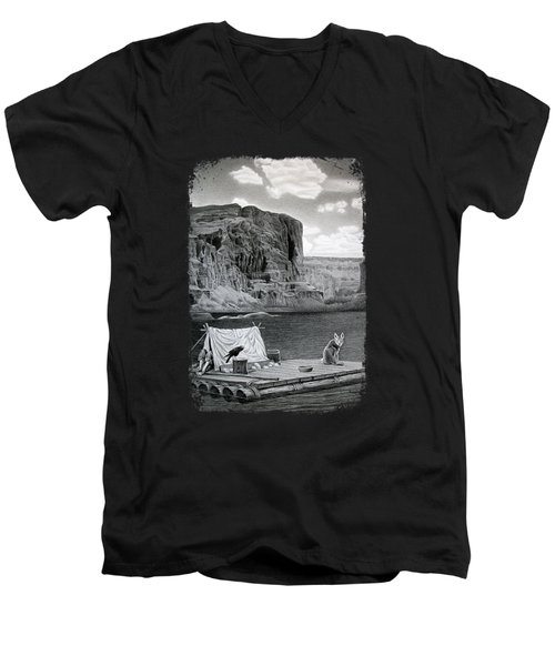 In The Grand Canyon Men's V-Neck T-Shirt