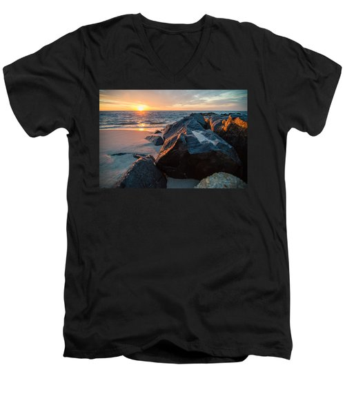 In The Jetty Men's V-Neck T-Shirt