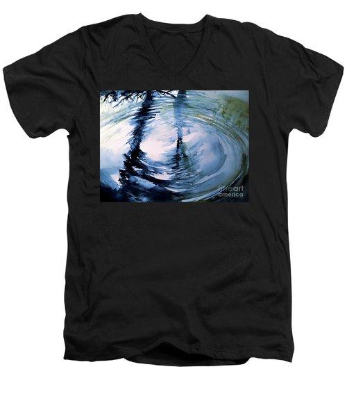 In The Ripple Men's V-Neck T-Shirt