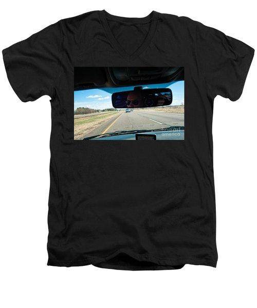 In The Road 2 Men's V-Neck T-Shirt