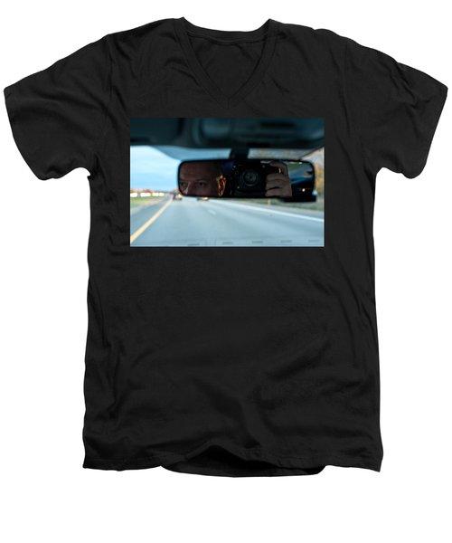 In The Road Men's V-Neck T-Shirt