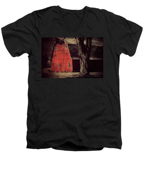 In The Spotlight Men's V-Neck T-Shirt by Julie Hamilton